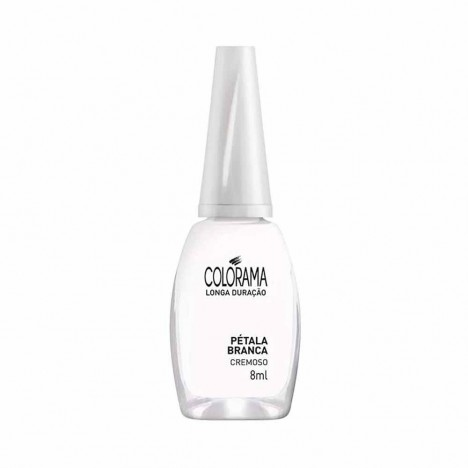 ESMALTE COLORAMA PETALA BRANCA 8ML